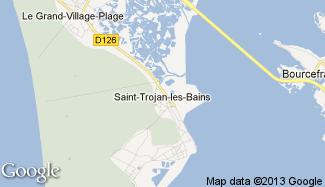 Plan de Saint-Trojan-les-Bains