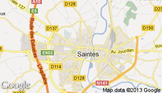 Plan de Saintes