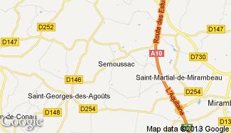 Plan de Semoussac