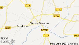 Plan de Tonnay-Boutonne