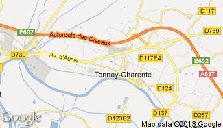 Plan de Tonnay-Charente