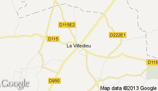 Plan de La Villedieu