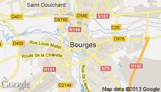 Plan de Bourges