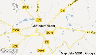 Plan de Châteaumeillant