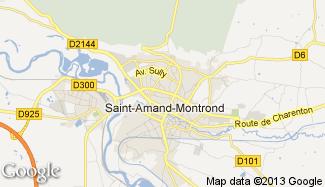 Plan de Saint-Amand-Montrond