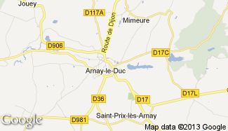 Plan de Arnay-le-Duc