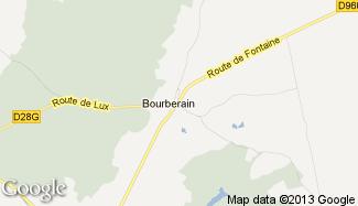 Plan de Bourberain