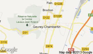 Plan de Gevrey-Chambertin