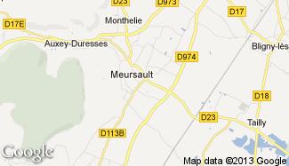 Plan de Meursault