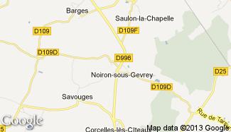 Plan de Noiron-sous-Gevrey