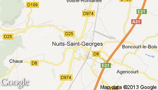 Plan de Nuits-Saint-Georges
