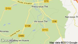 Plan de Vic-sous-Thil