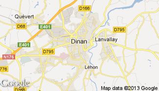 Plan de Dinan