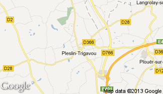Plan de Pleslin-Trigavou