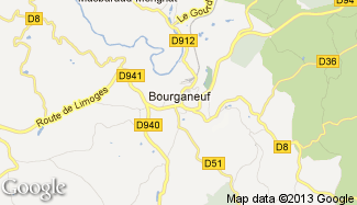 Plan de Bourganeuf