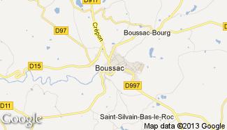 Plan de Boussac
