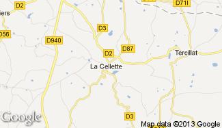 Plan de La Cellette