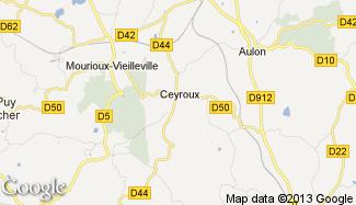 Plan de Ceyroux