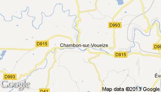 Plan de Chambon-sur-Voueize