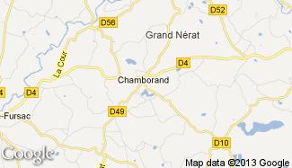 Plan de Chamborand