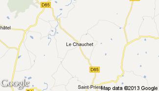Plan de Le Chauchet