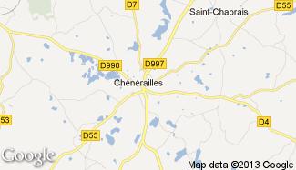 Plan de Chénérailles