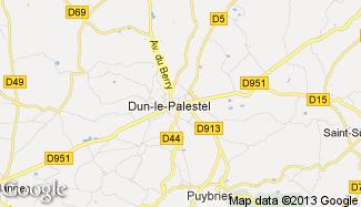 Plan de Dun-le-Palestel
