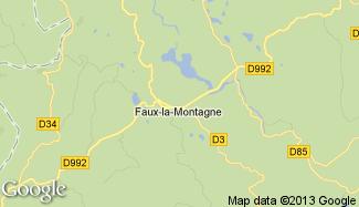 Plan de Faux-la-Montagne