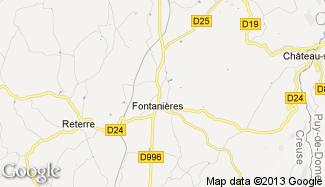 Plan de Fontanières