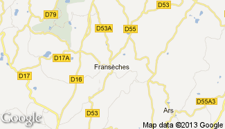 Plan de Fransèches