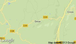 Plan de Gioux
