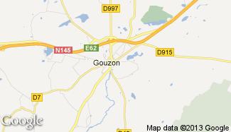 Plan de Gouzon