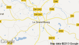 Plan de Le Grand-Bourg