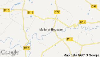 Plan de Malleret-Boussac