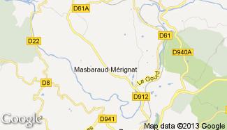 Plan de Masbaraud-Mérignat