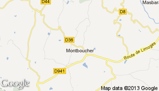 Plan de Montboucher