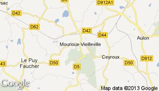 Plan de Mourioux-Vieilleville