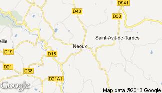 Plan de Néoux