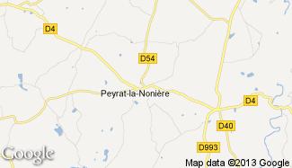 Plan de Peyrat-la-Nonière