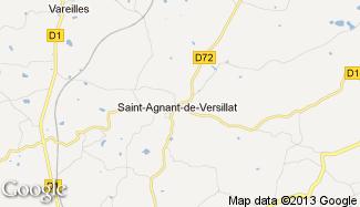 Plan de Saint-Agnant-de-Versillat