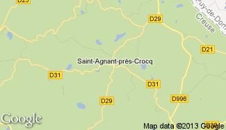 Plan de Saint-Agnant-près-Crocq