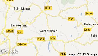 Plan de Saint-Alpinien