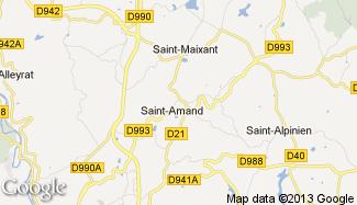 Plan de Saint-Amand