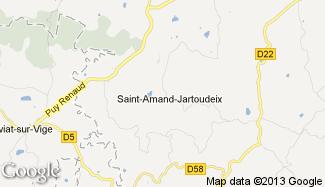 Plan de Saint-Amand-Jartoudeix