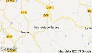 Plan de Saint-Avit-de-Tardes