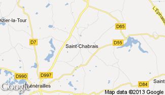 Plan de Saint-Chabrais