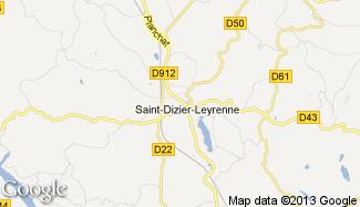 Plan de Saint-Dizier-Leyrenne