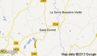 Plan de Saint-Domet