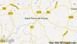 Plan de Saint-Étienne-de-Fursac