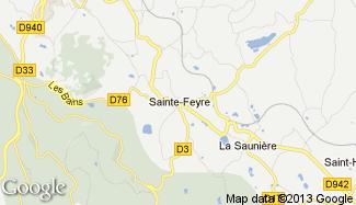Plan de Sainte-Feyre